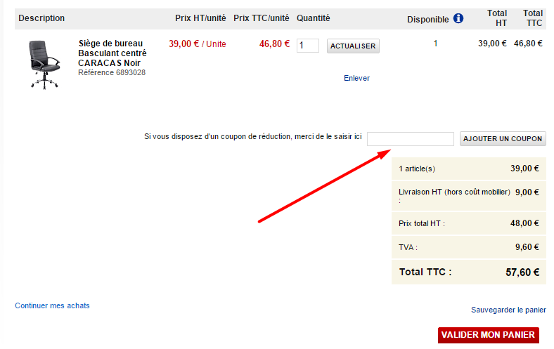 Comment utiliser un code promo office d p t - Coupon de reduction office depot ...