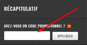 appliquer code promo nike
