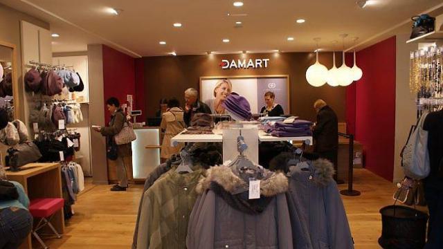 boutique et promotions damart