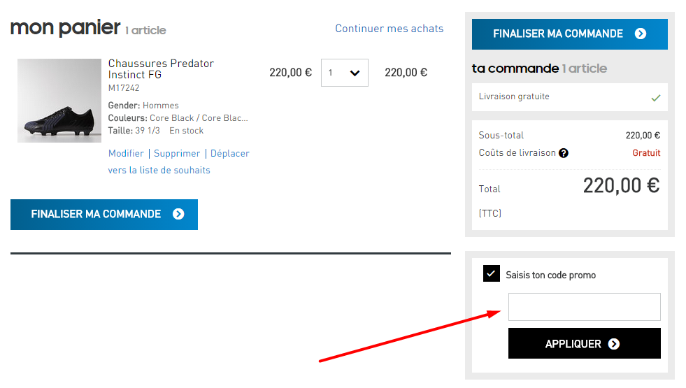 Adidas discount coupons