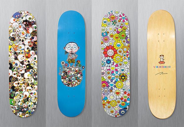 murakami-skate-decks