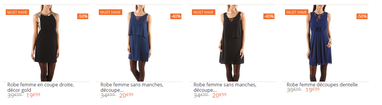 promotions et reductions camaieu